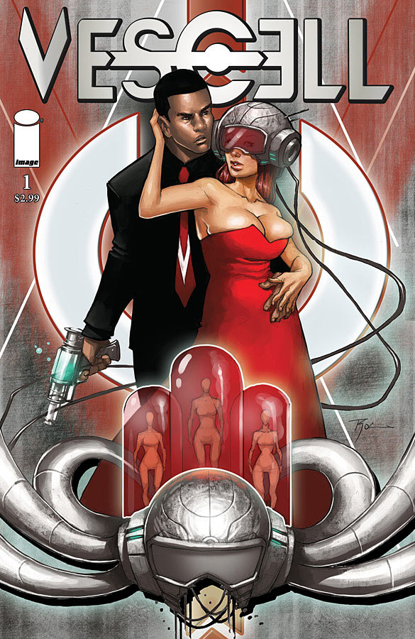 vescell Image Comics presents new Sci-Fi Series VESCELL