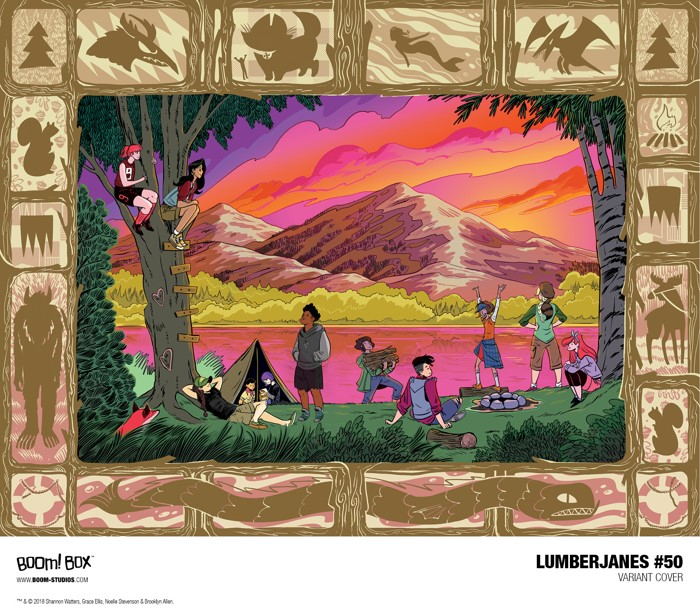 0305b7f7-cf19-42ae-87d7-a98b31c29870 Discover the historic 50th issue of the phenomenonal LUMBERJANES