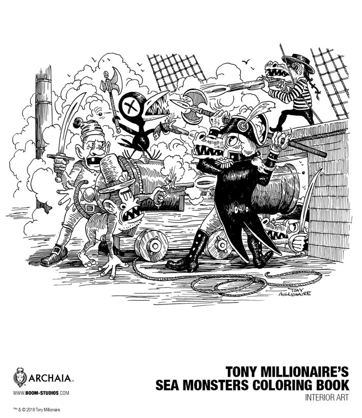1f96b3e0-0b6e-4960-853a-bc7a4f31d11e Tony Millionaire will color your opinion of SEA MONSTERS