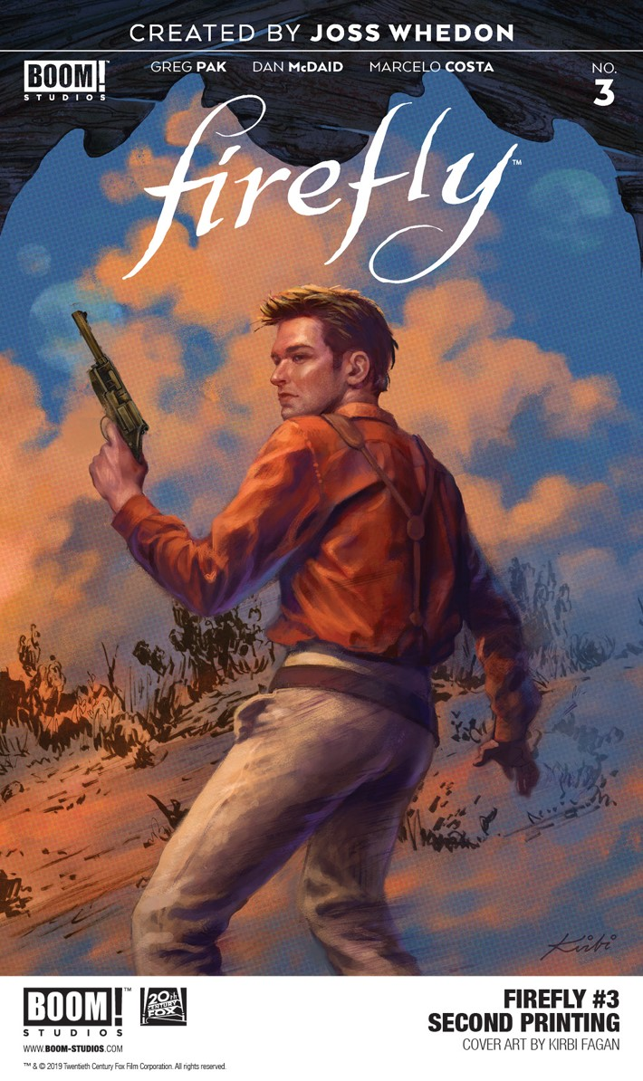1faaaf67-37b8-4aea-ba1d-93a9243cc9e5 BOOM! Studios' FIREFLY #2 and FIREFLY #3 receive new printings