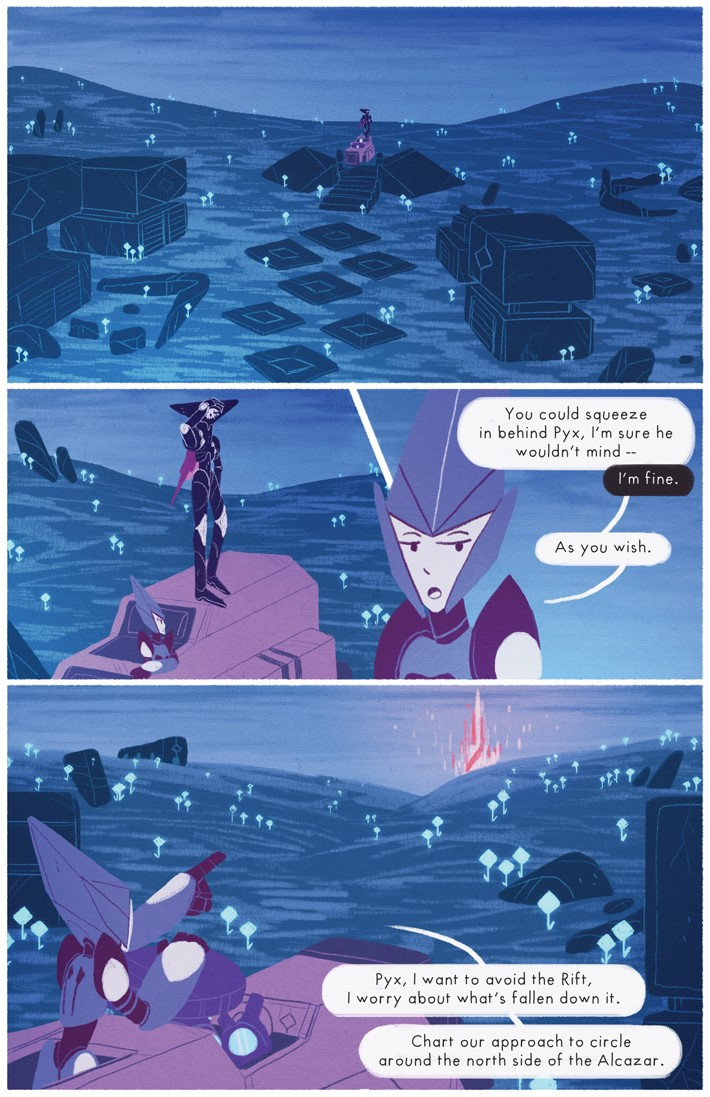 227187_1303049_1005 Teen webcomic OPHIUCHUS to debut in print this August