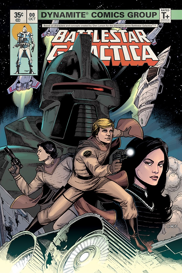 63f3789d-7a38-4636-8005-2735e1677fff Dynamite launches BATTLESTAR GALACTICA miniseries with $.35 zero issue