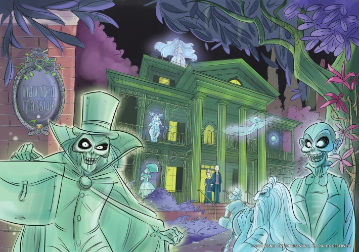 858863bf-b9c1-4afa-b50b-0a293896bc63 THE HAUNTED MANSION launches an all-new illustrated adventure