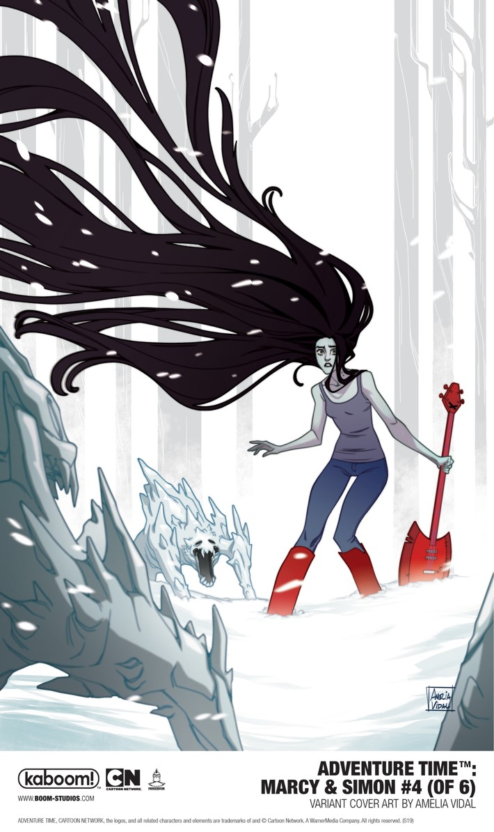 AT_MarcySimon_004_VariantCoverB_PROMO First Look at BOOM! Studios' ADVENTURE TIME MARCY AND SIMON #4