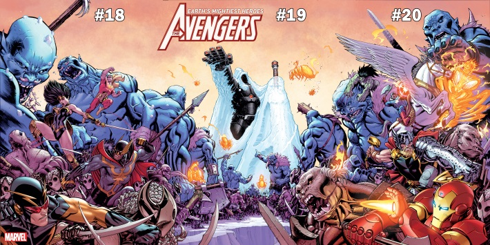 AVEN18-19-20_COV Ed McGuinness connects Avengers covers for WAR OF THE REALMS
