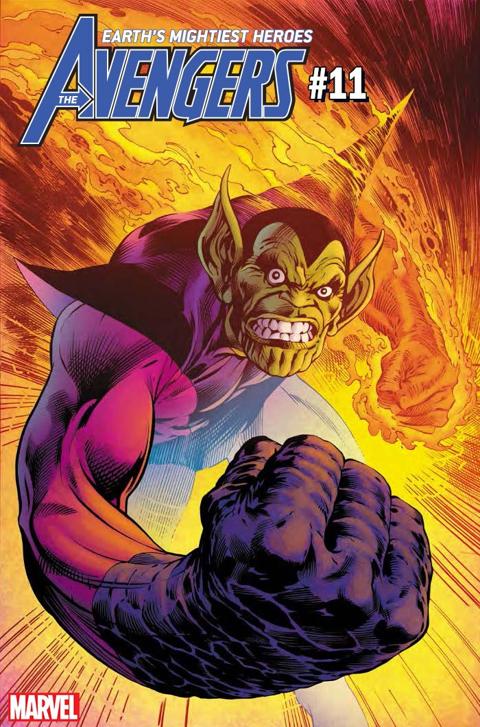 AVENGERS_011 FANTASTIC FOUR villains vilify variant covers this December