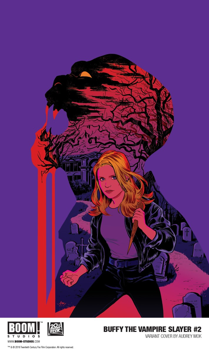 Buffy_002_VariantE_Mok_PROMO First Look at BOOM! Studios' BUFFY THE VAMPIRE SLAYER #2
