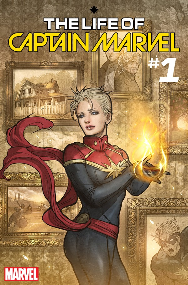 CAPTAINMARVEL001_TAKEDA Marvel celebrates International Women's Day with variant covers