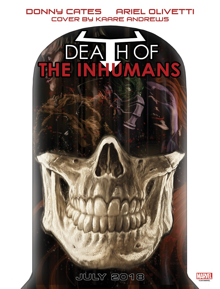 DEATH_OF_INHUMANS The Inhumans appear to be dying July 2018