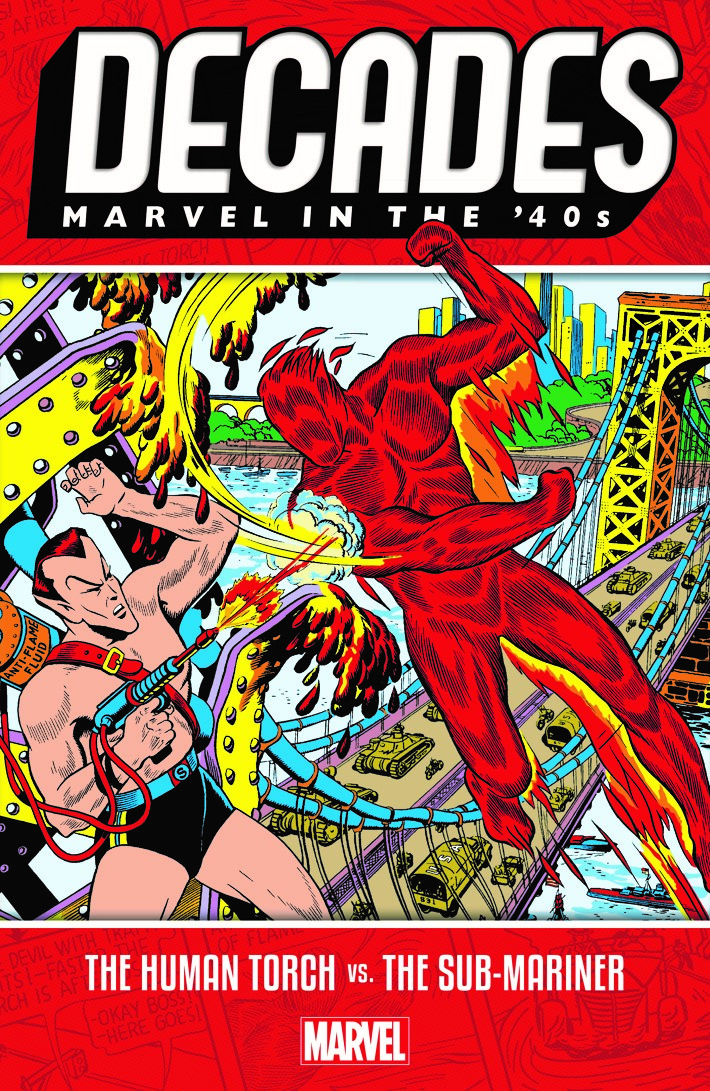 DECADES_40s_Final MARVEL DECADES Collections celebrate 80 years of Marvel Comics