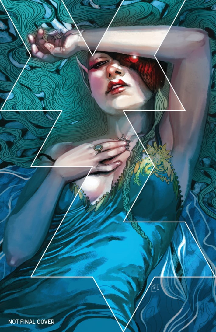 DIE02-3rdPtg-Cover_c6815a0147f8285e3b5042ebb3626151 Two issues of Kieron Gillen and Stephanie Hans' DIE return to print
