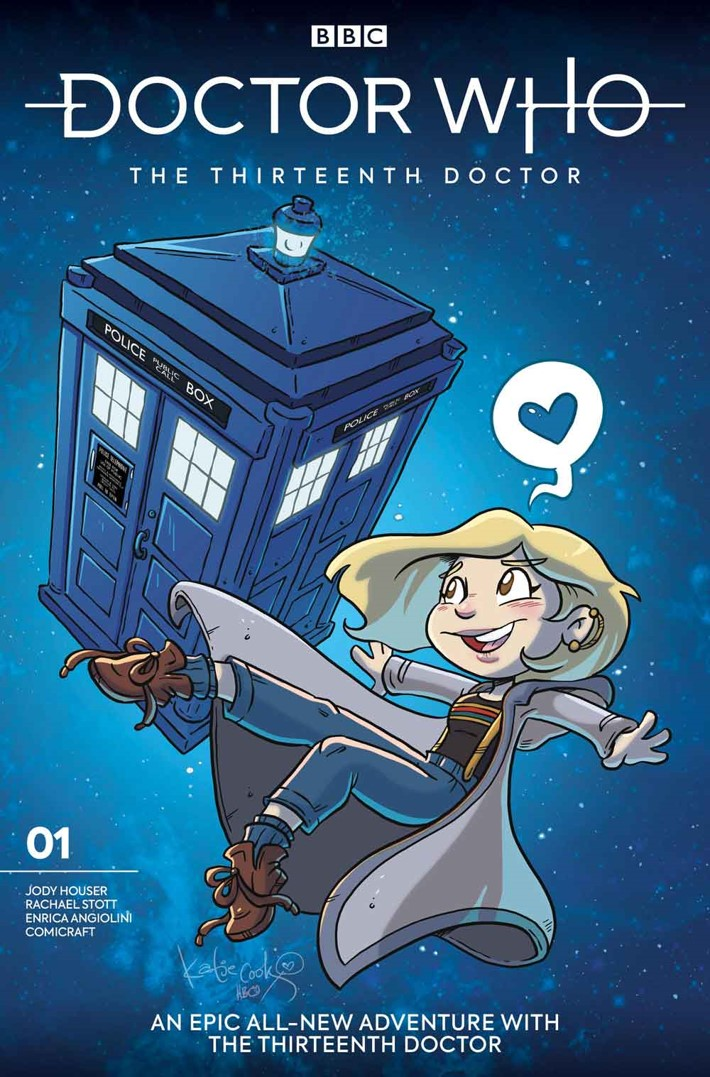 DW13D_1_Cover_I_KATIE_COOK Titan reveals DOCTOR WHO THE THIRTEENTH DOCTOR variant covers