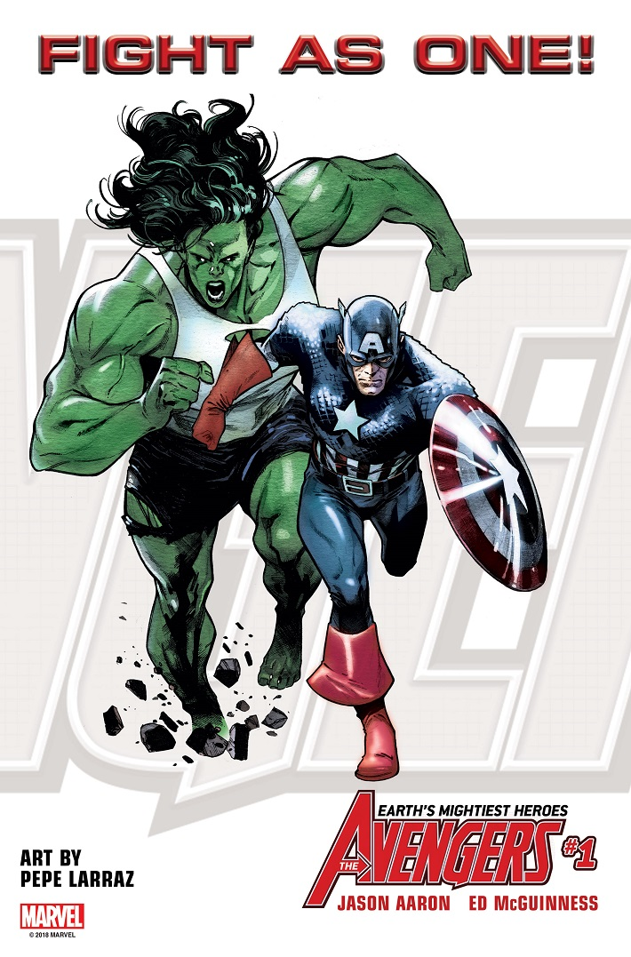 FIGHTASONE_SHE-HULK_CAP The all-new Avengers roster to include She-Hulk and Captain America