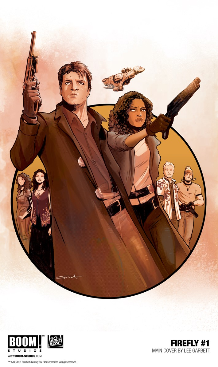 Firefly_001_Main_PROMO J.G. Jones forges a FIREFLY #1 variant cover