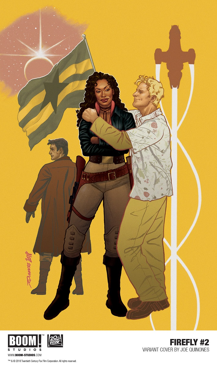 Firefly_002_Variant2_PROMO FIREFLY #2 Joe Quinones variant covers revealed by BOOM! Studios