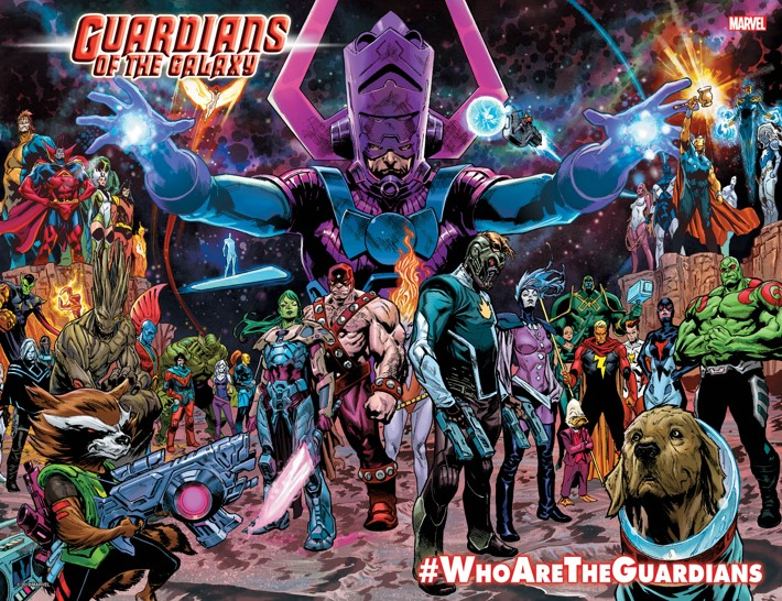 GOTGPromo_Spread An all new GUARDIANS OF THE GALAXY arrives this January