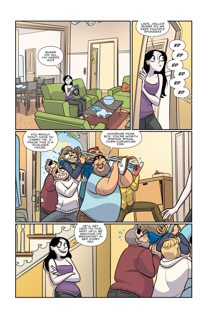 GiantDays_040_PrintProof4_PREVIEW First Look at BOOM! Studios' GIANT DAYS #40