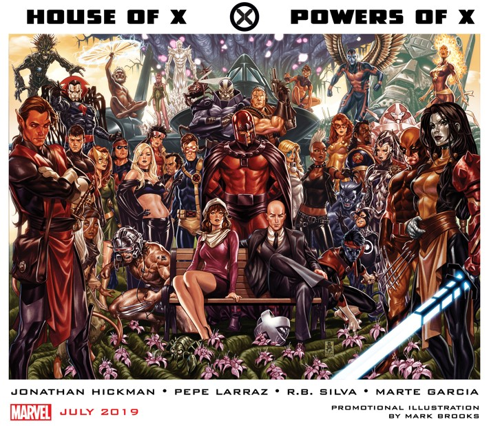 HouseOfXPowersOfX_1 X marks the spot this July with HOUSE OF X and POWERS OF X
