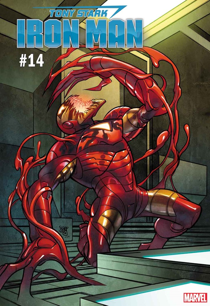 IRON-MAN-14 Marvel variant covers will be ABSOLUTELY CARNAGED this summer