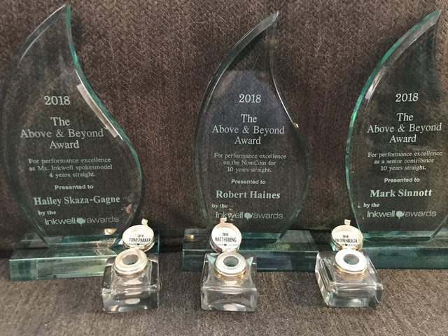 Inkwell2018 The Inkwell Awards announce 2018 winners