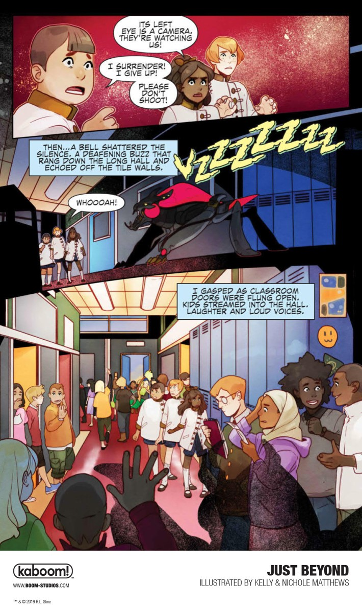 JustBeyond_OGN_InteriorArt_009_PROMO First Look at BOOM! Studios' JUST BEYOND: THE SCARE SCHOOL GN