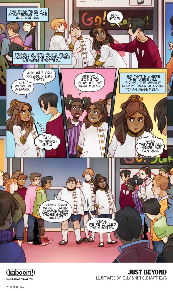 JustBeyond_OGN_InteriorArt_011_PROMO First Look at BOOM! Studios' JUST BEYOND: THE SCARE SCHOOL GN