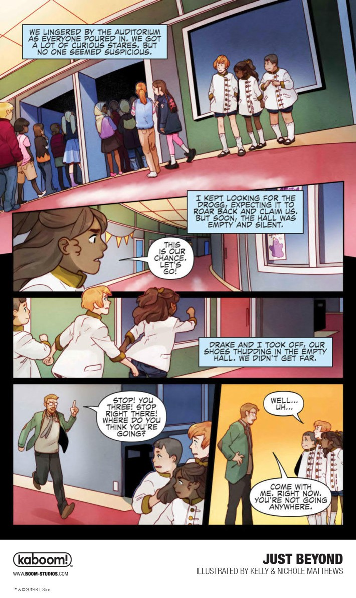 JustBeyond_OGN_InteriorArt_012_PROMO First Look at BOOM! Studios' JUST BEYOND: THE SCARE SCHOOL GN