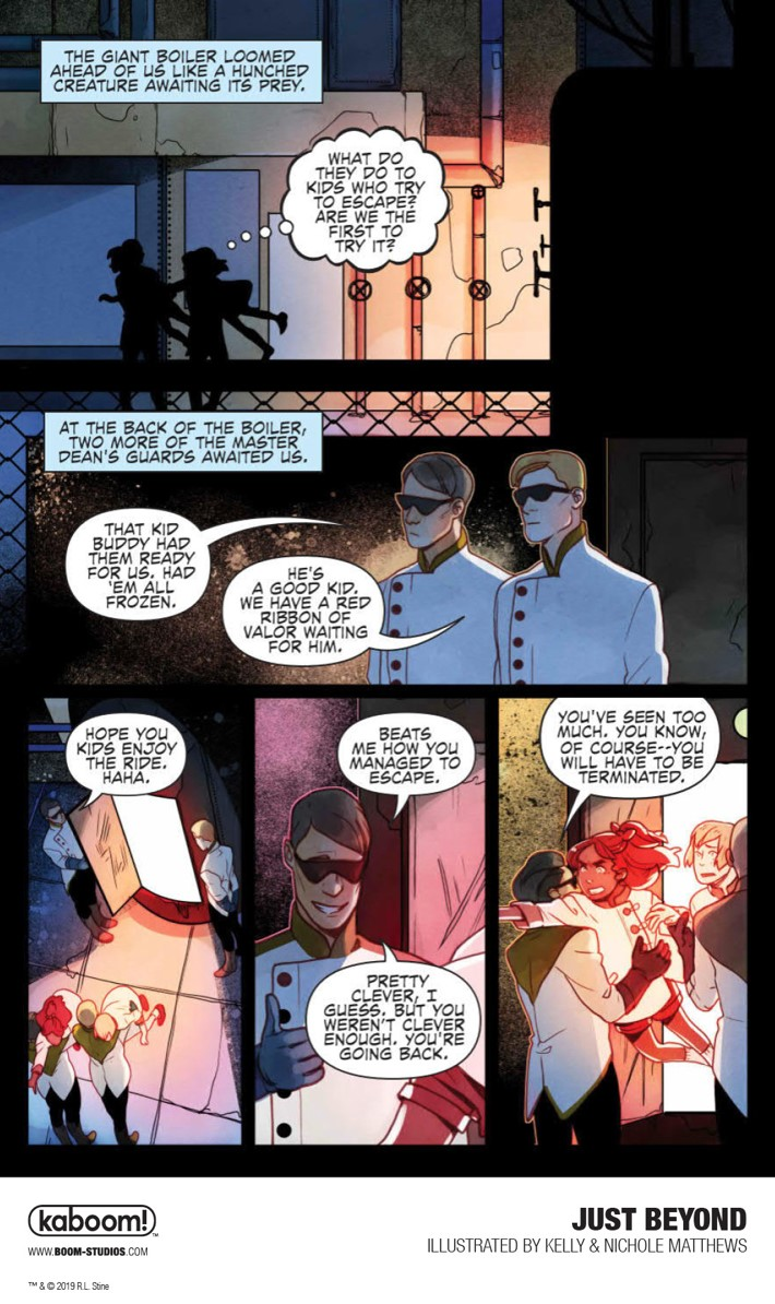 JustBeyond_OGN_InteriorArt_024_PROMO First Look at BOOM! Studios' JUST BEYOND: THE SCARE SCHOOL GN