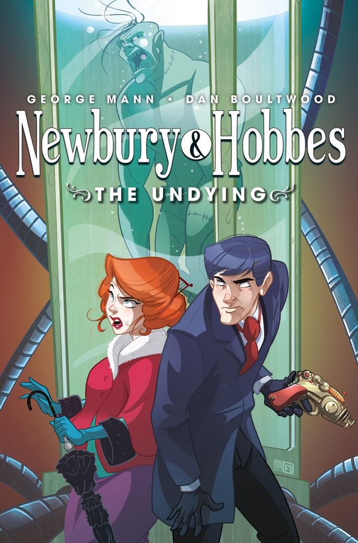 Newbury_&_Hobbes_01_CoverB George Mann brings steampunk mystery NEWBURY AND HOBBES to Titan