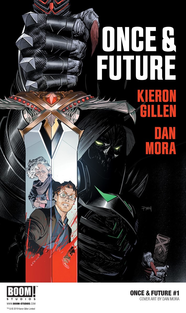 OnceAndFuture_001_Cover_PROMO Kieron Gillen's ONCE AND FUTURE debuts August 2019