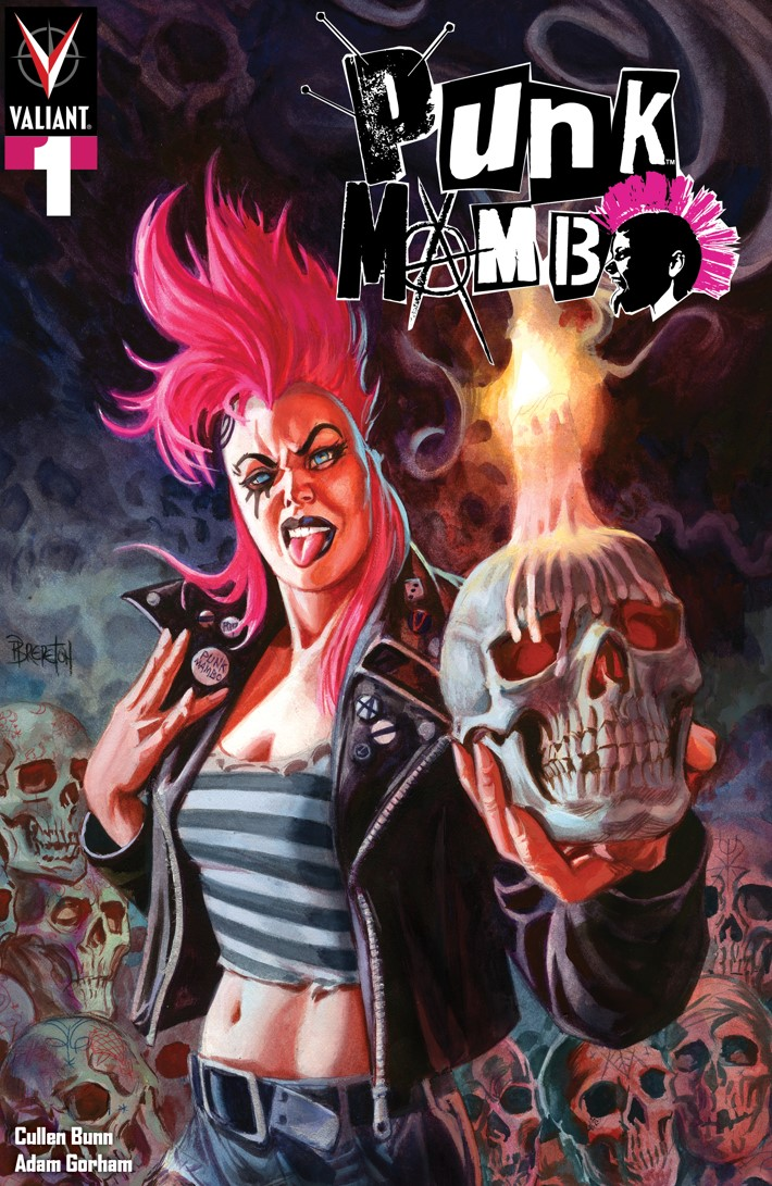 PUNK_001_COVER-A_BRERETON PUNK MAMBO #1-5 Pre-Order Bundle to contain free song download