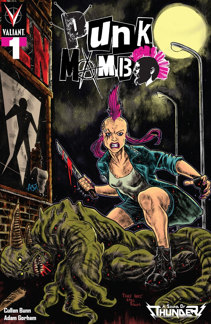 PUNK_001_VARIANT_ASOT_HART PUNK MAMBO #1 to feature Iron Maiden homage comics by Trav Hart