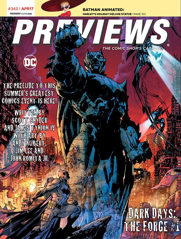 PreviewsApril2017FrontCover Preview The April 2017 PREVIEWS Catalog