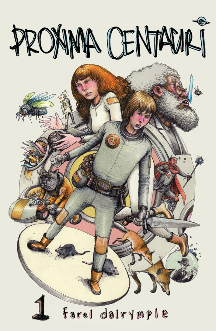 ProximaCentauri-01_cvr Farel Dalrymple's PROXIMA CENTAURI and IT WILL ALL HURT arrive this June