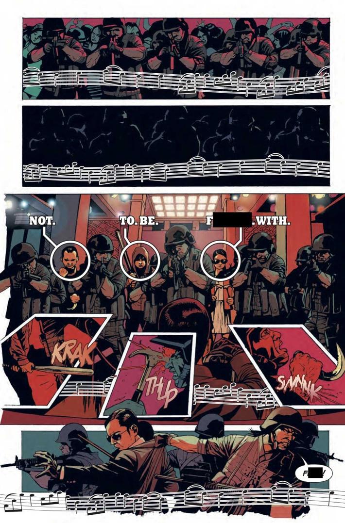 RAID-1-Preview-2 First Look at Titan Comics' THE RAID #1