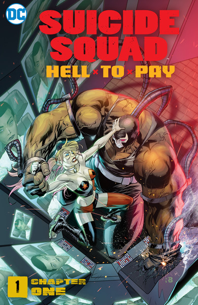 SSQUAD_HTP_CH01_SFCover_5ab172780186a8.59320579 ComicList Previews: SUICIDE SQUAD HELL TO PAY CHAPTER 1