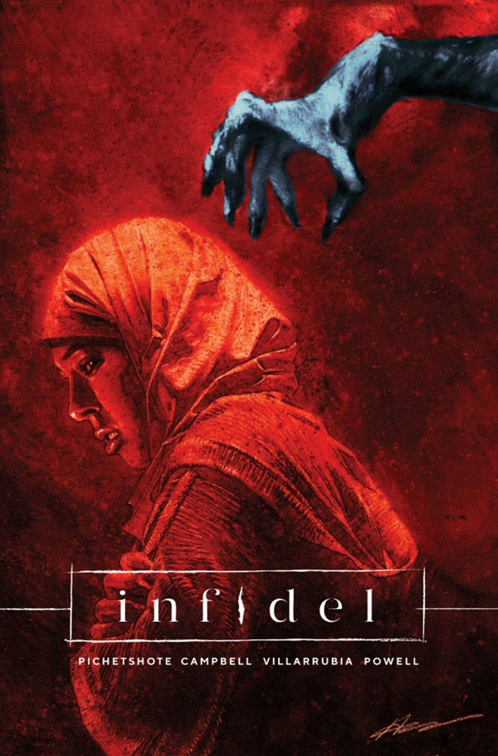 STL082740 Powerful new horror story INFIDEL to be collected this September