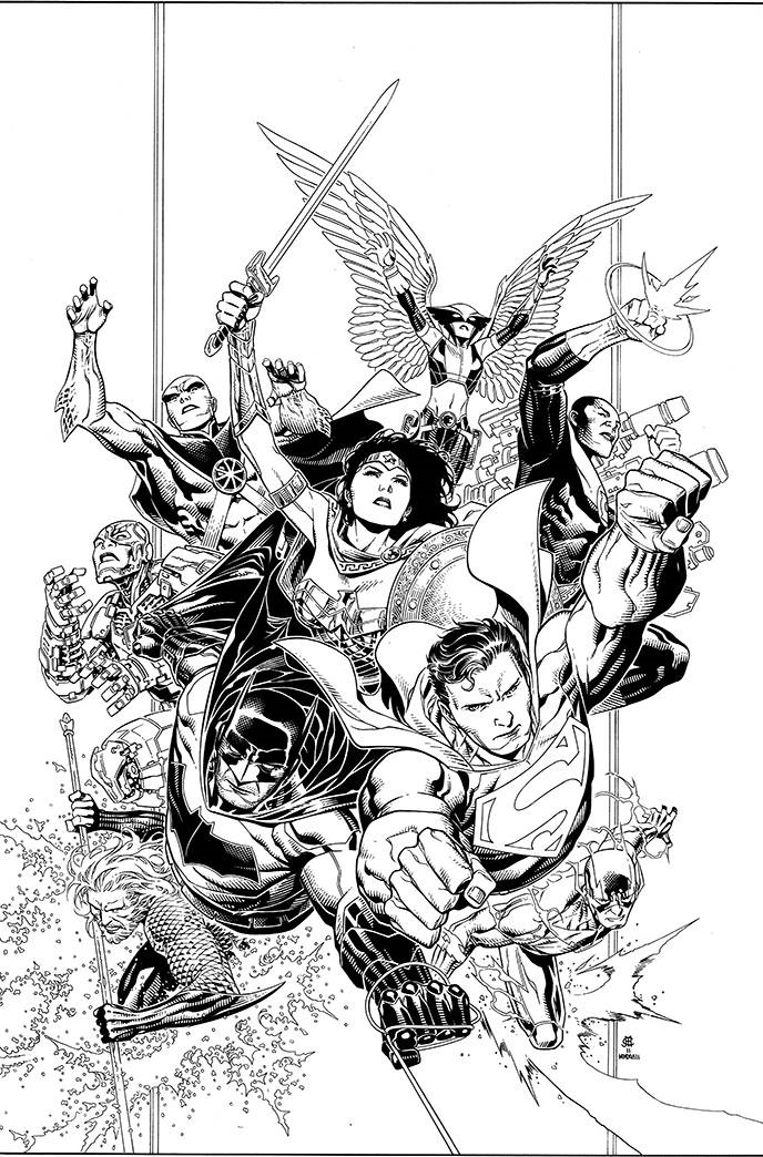 STL090794 DC announces new variant covers for JUSTICE LEAGUE #1