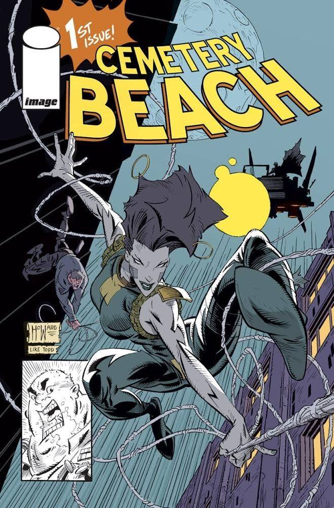 STL101534 Jason Howard pays tribute to Todd McFarlane with CEMETERY BEACH #1 variant