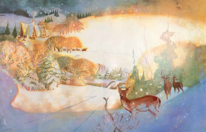 Santa_interiors6-7(1) Bill Sienkiewicz to illustrate SANTA: MY LIFE AND TIMES