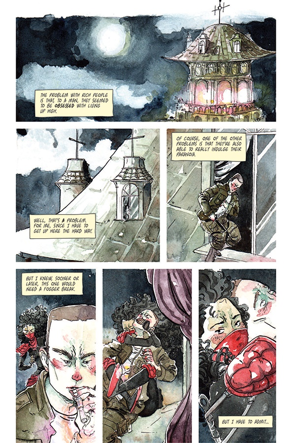 TFT0101_Part1 ComicList Previews: THE FAMILY TRADE VOLUME 1 TP