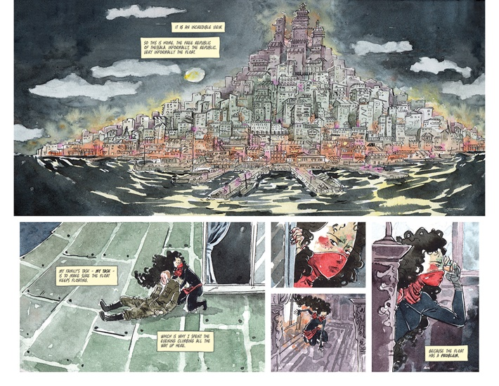 TFT0101_Part2 ComicList Previews: THE FAMILY TRADE VOLUME 1 TP