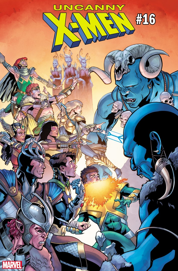 UNCX2018016_Sliney_Asgardian WAR OF THE REALMS to feature Asgardian warrior variants