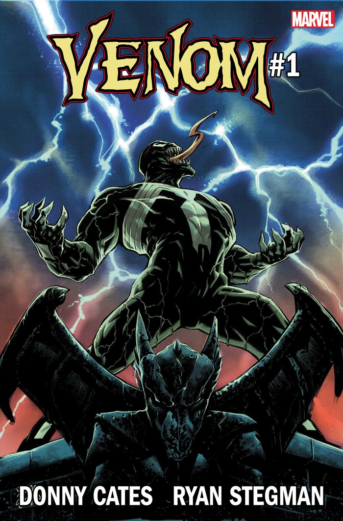 Venom2018_001_Cvr VENOM #1 to feature all-new creative team and all-new direction