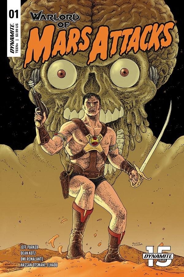 WoMarsAttacks-001-01031-C-Villalobos WARLORD OF MARS ATTACKS to feature Martian on Martian violence