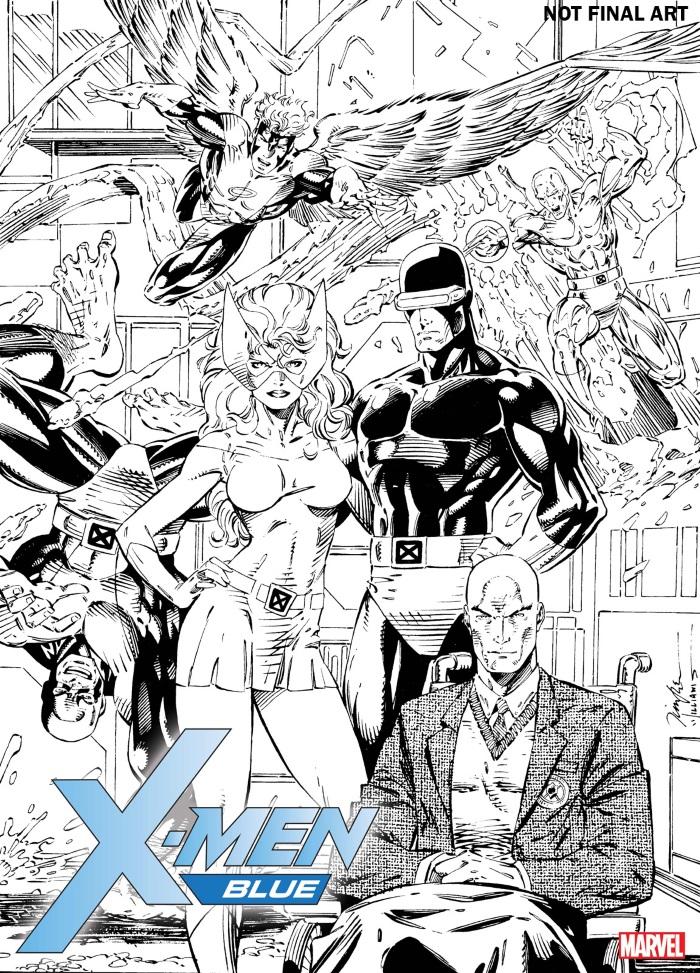 X-Men_Blue_Jim_Lee_Remastered_NOT_FINAL X-MEN BLUE and X-MEN GOLD to feature remastered Jim Lee artwork