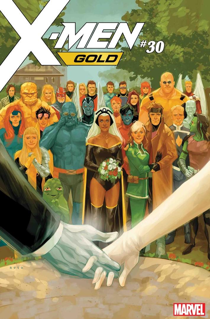 XMENGOLD30_NOTO_CVR The X-Wedding Of The Century begins in X-MEN GOLD #29