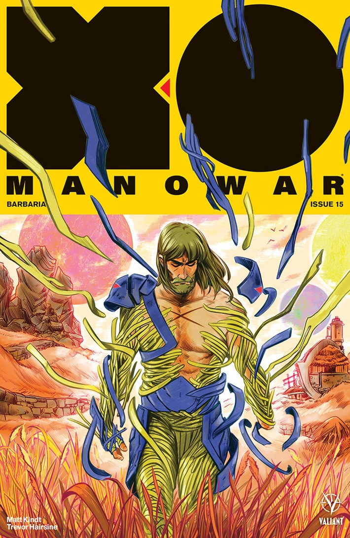 XO2017_015_VARIANT_FISH First Look at Valiant Entertainment's X-O MANOWAR (2017) #15