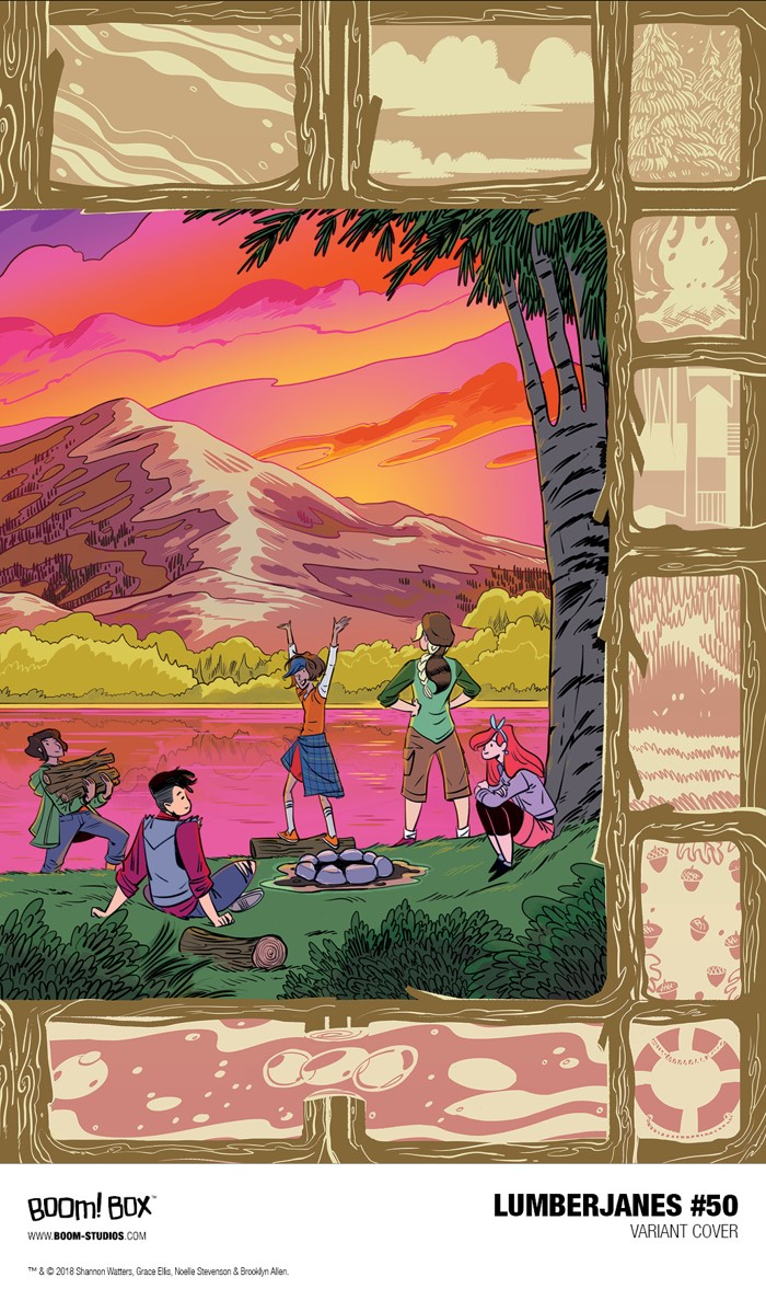 d4a09658-f100-4692-895f-cf89e43531c9 Discover the historic 50th issue of the phenomenonal LUMBERJANES