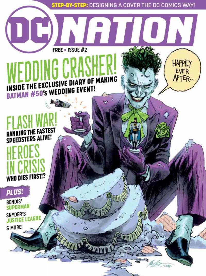 dcnation2 DC reveals contents of all-new free consumer magazine DC NATION #2